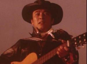 夕焼けに歌う早川健