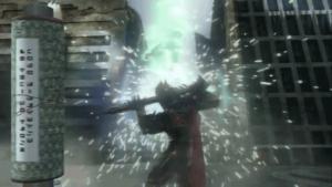 仮面ライダー剣斬の攻撃