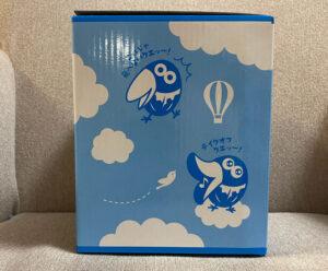 飛びたいキョロちゃん缶パッケージ