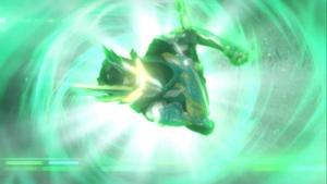 仮面ライダー剣斬のカラミティストライク