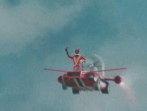 空飛ぶズバットとズバッカー