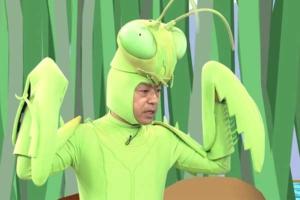 香川照之カマキリ着ぐるみ昆虫すごいぜ!